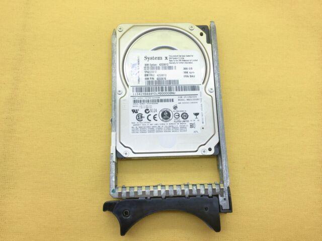 "IBM 42D0612 300GB 10K 6G SAS 2.5"" HDD HARD DRIVE 42D0613 42D0616"