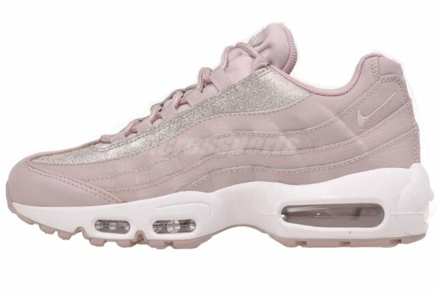 Nike Air Max 95 Womens Sz 7 Pink   Rose Glitter Sparkle At0068 600 ... 2247e8bebd