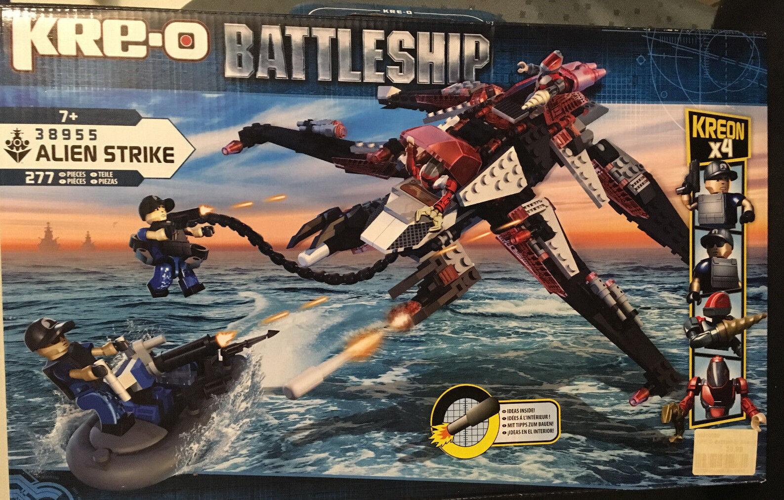 Hasbro Hasbro Hasbro KRE-O Battleship Alien Strike 38955 Neu&OVP 5cb74b