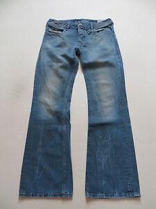 Diesel-ZATHAN-wash-008QK-Bootcut-Jeans-Hose-W-31-L-32-original-Vintage-Denim