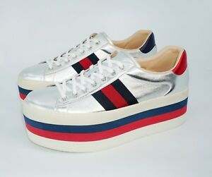 63df998f100a1 Image is loading Gucci-Men-039-s-New-Ace-Leather-Low-