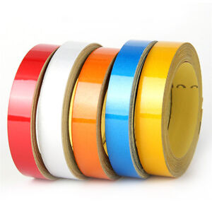 Reflective-Sticker-Tape-Car-Body-Stripe-DIY-Self-Adhesive-Decal-1cm-x-5-meter