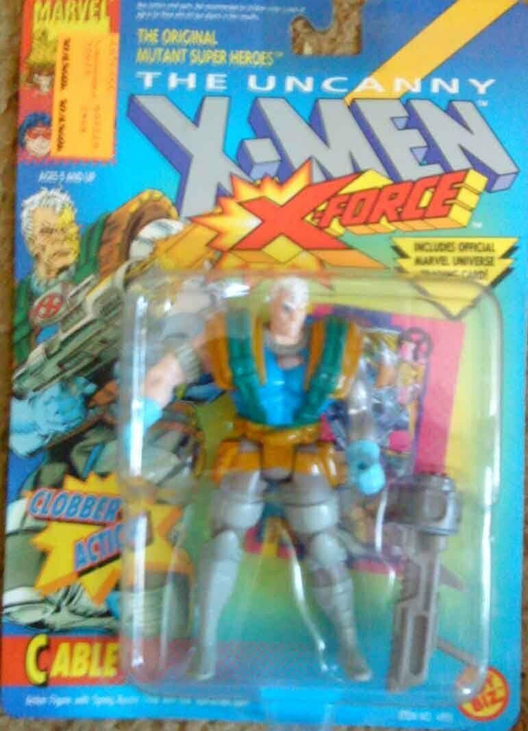 Marvel vintage uncanny uncanny uncanny x-men x-force cable with weapon 1992 594f7b