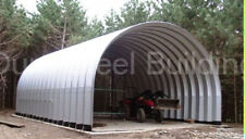 Durospan Steel 25x40x18 Metal Home Building Kit As Seen On Tv Open Ends Direct