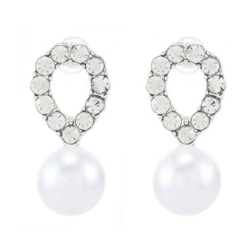 18K Gold Square Cube AAA zircon Stud Earrings for Men Women Wedding XMAS Gift UK