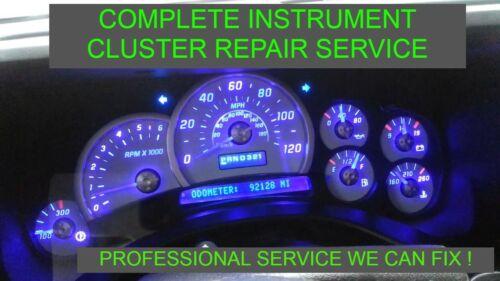 2003-2007 H2 Hummer Instrument Speedometer Gauge Dash Panel FULL REPAIR Cluster