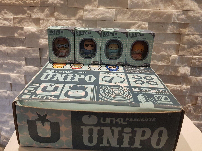 Unipo Series 5 - Speed Demons - Full Set In Retail Box - 2007