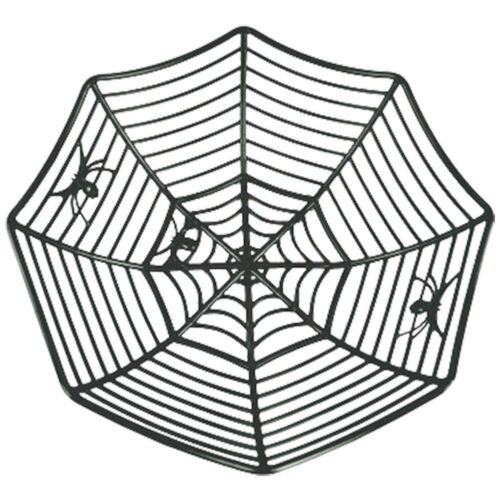 Halloween-Spider-Web-Baskets-Spiderweb-Bowls-Party-Favor-Fruits-Colorful-Plates