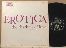 Erotica The Rhythms of Love Sex Sounds Original Joe Davis 1001 Party Time LP