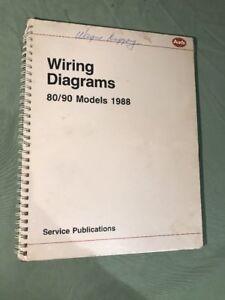 1988 Audi 80 / 90 Wiring Diagram Manual Book | eBayeBay