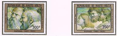 Briefmarken Obervolta 1983 Satz 923/24 Gemalde/raphael Postfrisch BerüHmt FüR Hochwertige Rohstoffe Burkina Faso Umfassende Spezifikationen Und GrößEn Sowie GroßE Auswahl An Designs Und Farben