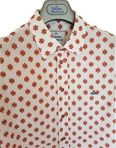 Mens-MAN-by-VIVIENNE-WESTWOOD-long-sleeve-shirt-size-III-large-Ex-con-RRP-275