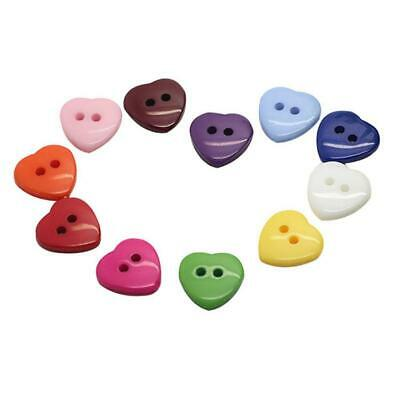 50 Pcs Mixed Wooden Buttons Wood Color Round 4-Holes Sewing DIY Clothing C5A2