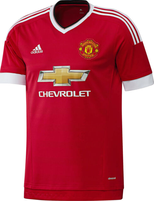 Manchester United 2015-2016 - Red Adidas XL Shirt