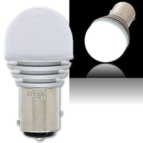#1157 White LED 12V 360° Park Tail Light Brake Stop Turn Signal Lamp Bulb EACH