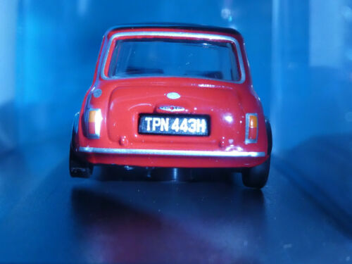 Mini Cooper MKII 1969 Rouge Tartan 1:76th échelle Oxford 00 Gauge Collectionneurs modèle
