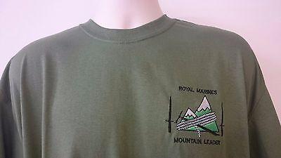 Royal Marines Embroidered Longsleeve Top Marines and Amphibious Warfare T-shirt