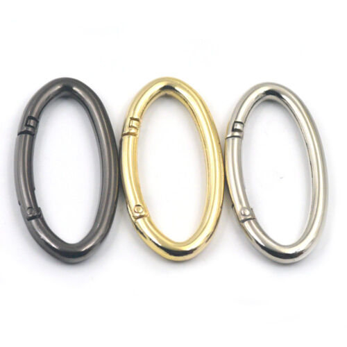 54mm Oval Ring Snap Buckle Open Clip Trigger Spring Gate Bag Accessories Handbag