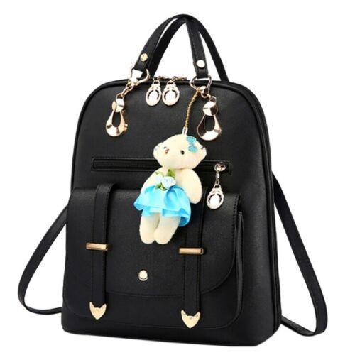 Women Backpack Rucksack PU Leather Shoulder Bag Ladies Girls for Travel School