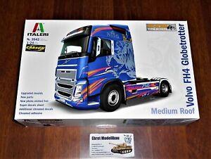 Volvo F16 Globetrotter Truck LKW 1:24 Model Kit Bausatz Italeri 3923