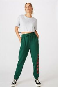 NRL Womens Old School Track Pant Pants  In  Rabbitohs