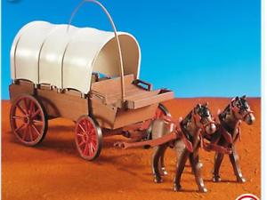 playmobil-nr-7648-cowboys-huifkar-koets-nieuw-new-3770-western
