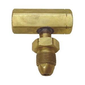 Propane-TEE-Block-Female-F-POL-Male-Pol-Tank-Cylinder-Split-Connection-Full-Flow