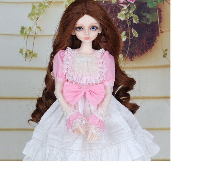 E15 1 4 Girl Super Dollfie Piel Normal coordinar Modelo Fullset BJD Muñeca O