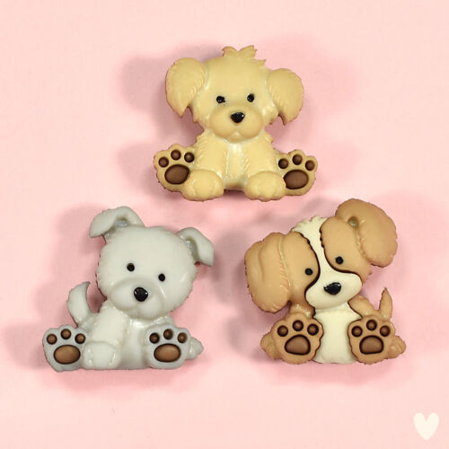 DRESS IT UP Buttons Take Me Home 10413 Dog Puppy Labrador Highland Terrier