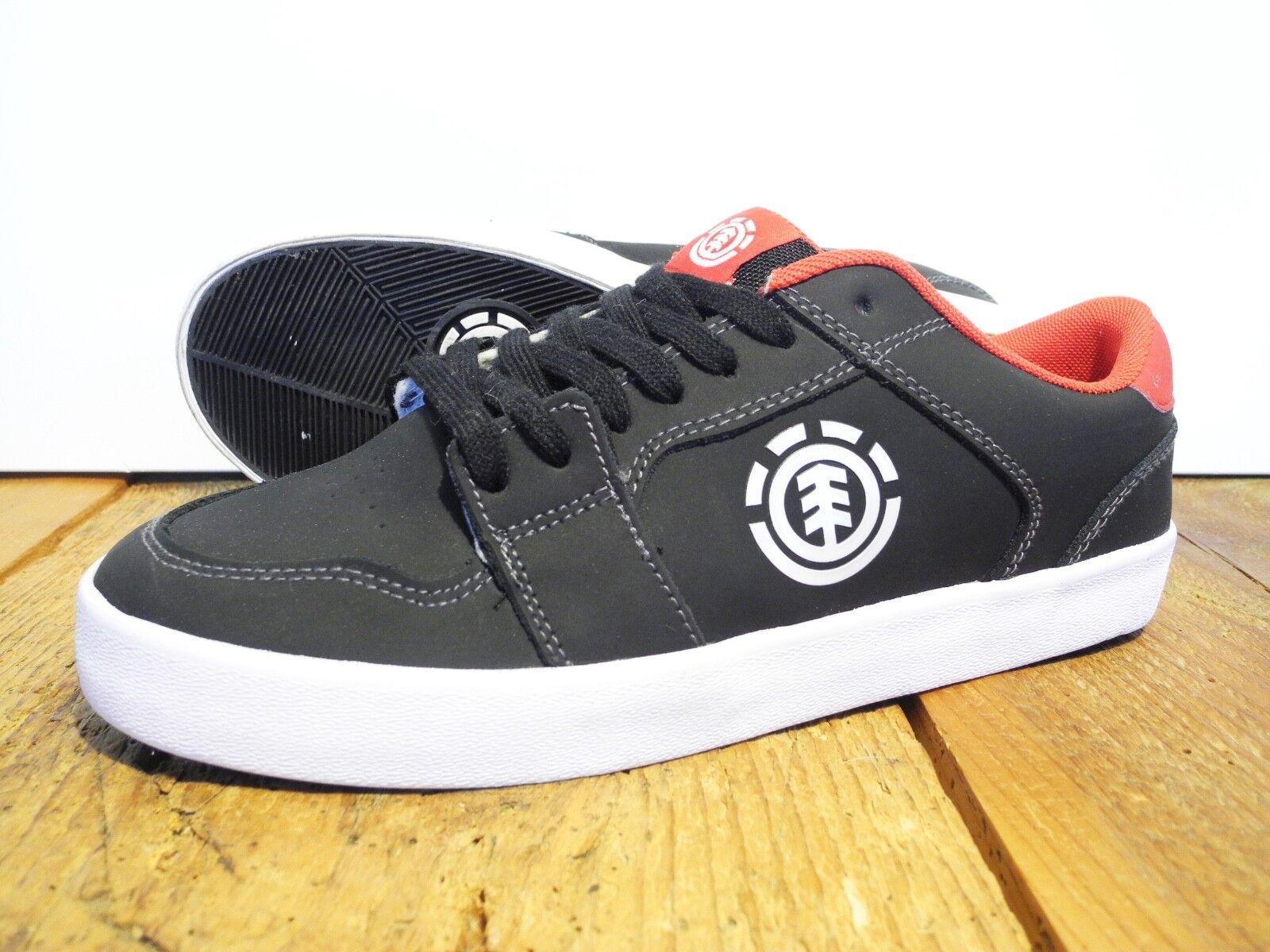 ELEMENT HEATLY SHOE NEU BLACK-RED GR  US 8 EUR 40,5 ELEMENT FOOTWEAR