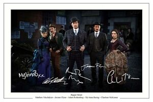 RIPPER-STREET-ST-CAST-AUTOGRAPH-SIGNED-PHOTO-PRINT