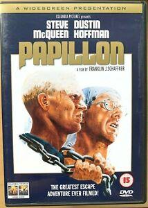 Papillon-DVD-1973-Prigione-Break-Film-Classico-W-Steve-Mcqueen-e-Dustin-Hoffman