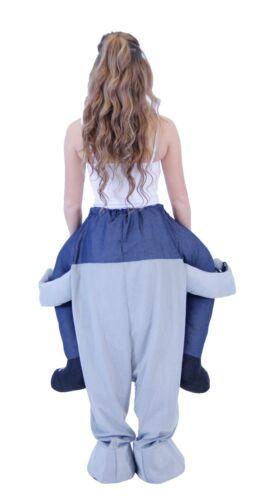 Unisex TEEN Size Funny Halloween Animal Piggyback Ride On Costume