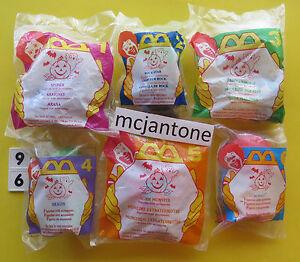MIP-SET-6-McDonald-039-s-1996-McNUGGET-BUDDIES-HALLOWEEN-Nugget-Buddy-COMPLETE