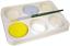 miniatura 2 - 6 Profondo Bene Arte Pittura Palette Artista Dipinto Unire Tray Blocchi Polvere
