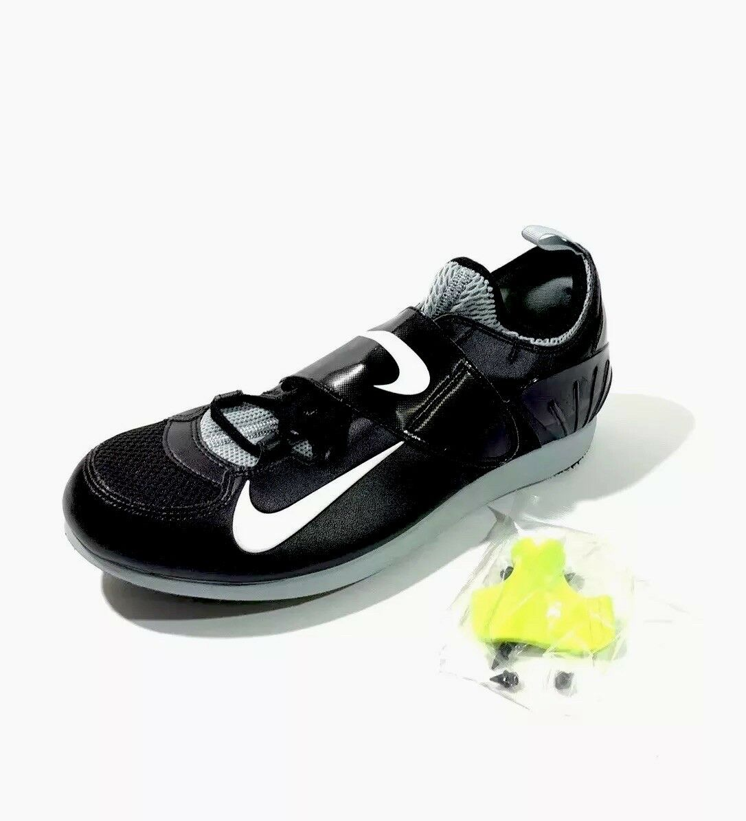 Nike Zoom Pole Vault PV II Track Spikes 317404-002 Size Mens 12 Black White