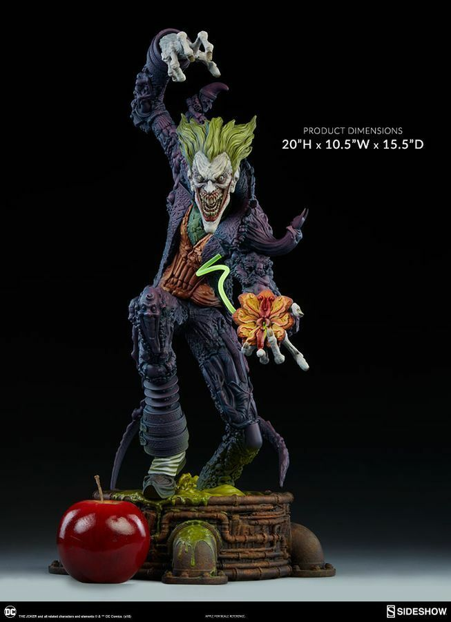 Batman-Joker Gotham City Estatua De Pesadilla