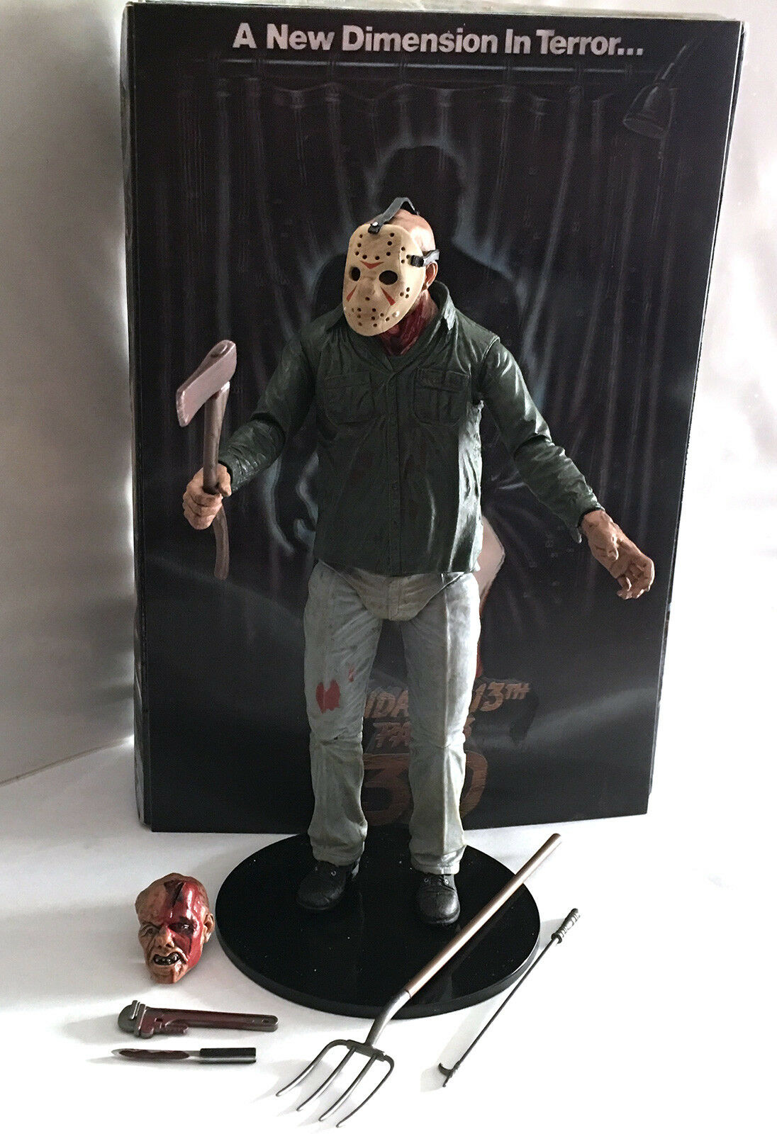 JASON VOORHEES • C9 • NECA FRIDAY THE 13TH PART 3