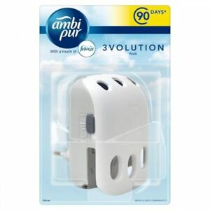 Ambi Pur 3volution Lufterfrischer Plug-in Diffusor 3 In 1 Uk Haupt Steckdose Household Supplies & Cleaning