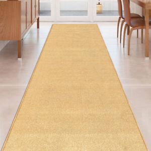 Custom-Size-BEIGE-Stair-Hallway-Runner-Rug-Rubber-Back-Non-Skid-22-034-26-034-31-034