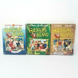 Gilligan-039-s-Island-The-Original-Complete-Seasons-1-2-3-DVD-disc-sets