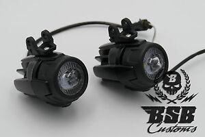 LED-Zusatzscheinwerfer-fuer-R-1200GS-1150-GS-F-800-650-schwarz-oder-indiv-Einbau