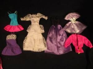 Barbie Doll Clothes Vintage Lot Purple Barbie Tags 236 Ebay