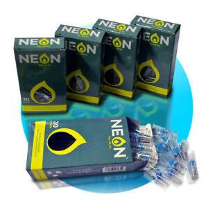 150-Filter-fuer-Zigaretten-5x30-Pack-ZIGARETTENFILTER-Neon-Cigarette-Spitze