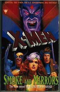 X-Men-Smoke-and-Mirrors-by-Eluci-Bes-Shahar-1997-Science-Fiction-Paperback-Book