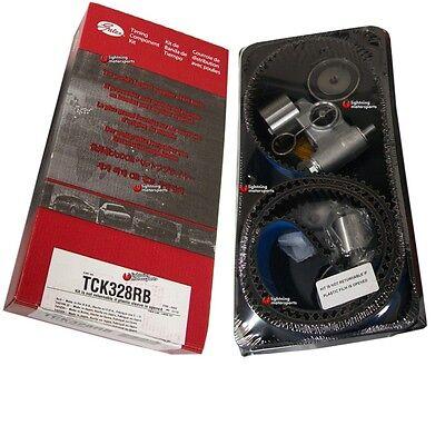 GATES TCK328RB Racing Timing Belt Kit Fits Subaru 04-07 WRX / WRX STi