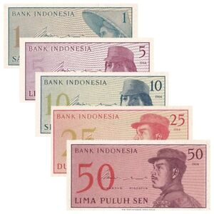 Indonesia-uncirculate-bank-note-X-5