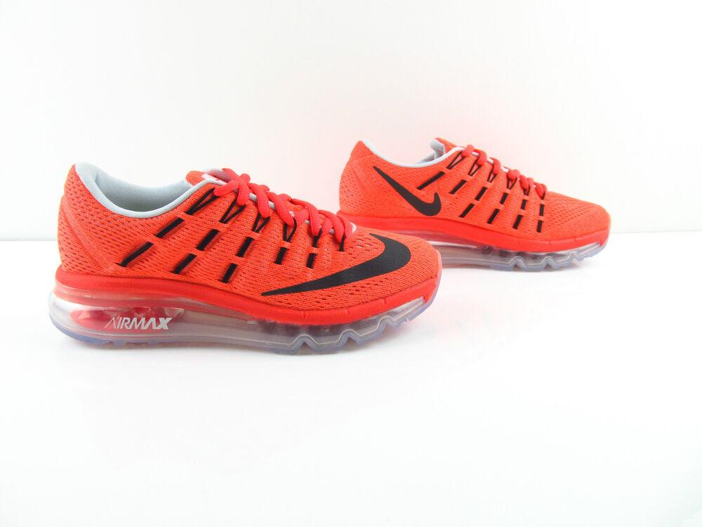 Nike Air Max 2016 Bright Crimson Gym rouge volts volts volts noir New us_7.5 8 EUR 37.5 38- 0870b2