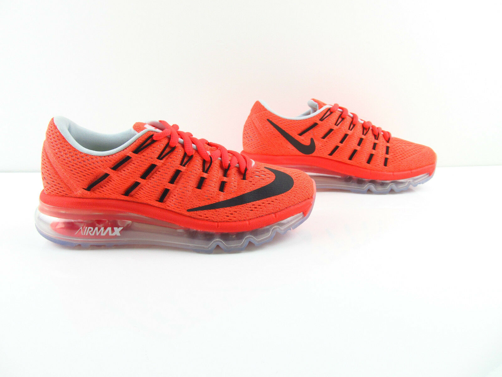 Nike Air Max 2016 Bright Crimson Gym Red Volt Black New US_7.5 8 Eur 37.5 38
