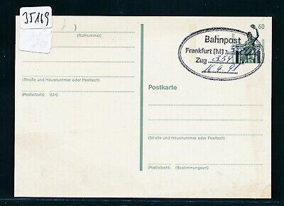 35169) Bahnpost Ovalstempel Frankfurt (m) ....zug...1991 Gesundheit Effektiv StäRken